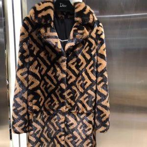 Authentic fendi coat